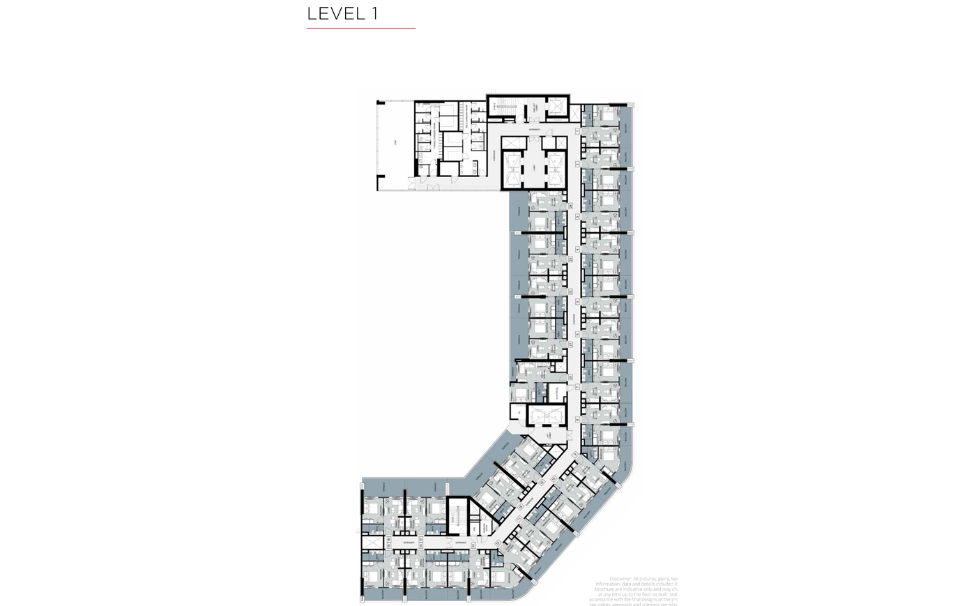Typical Floor, Level 1