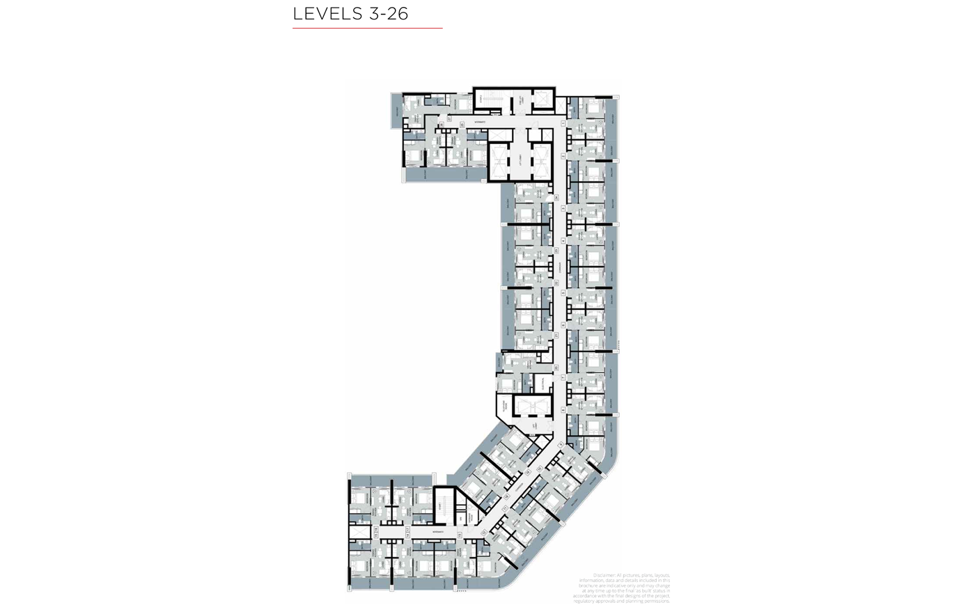 Typical Floor, Level 3-26