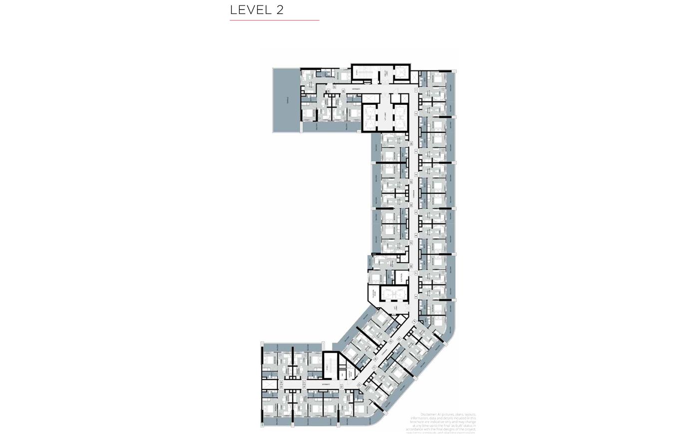 Typical Floor, Level 2