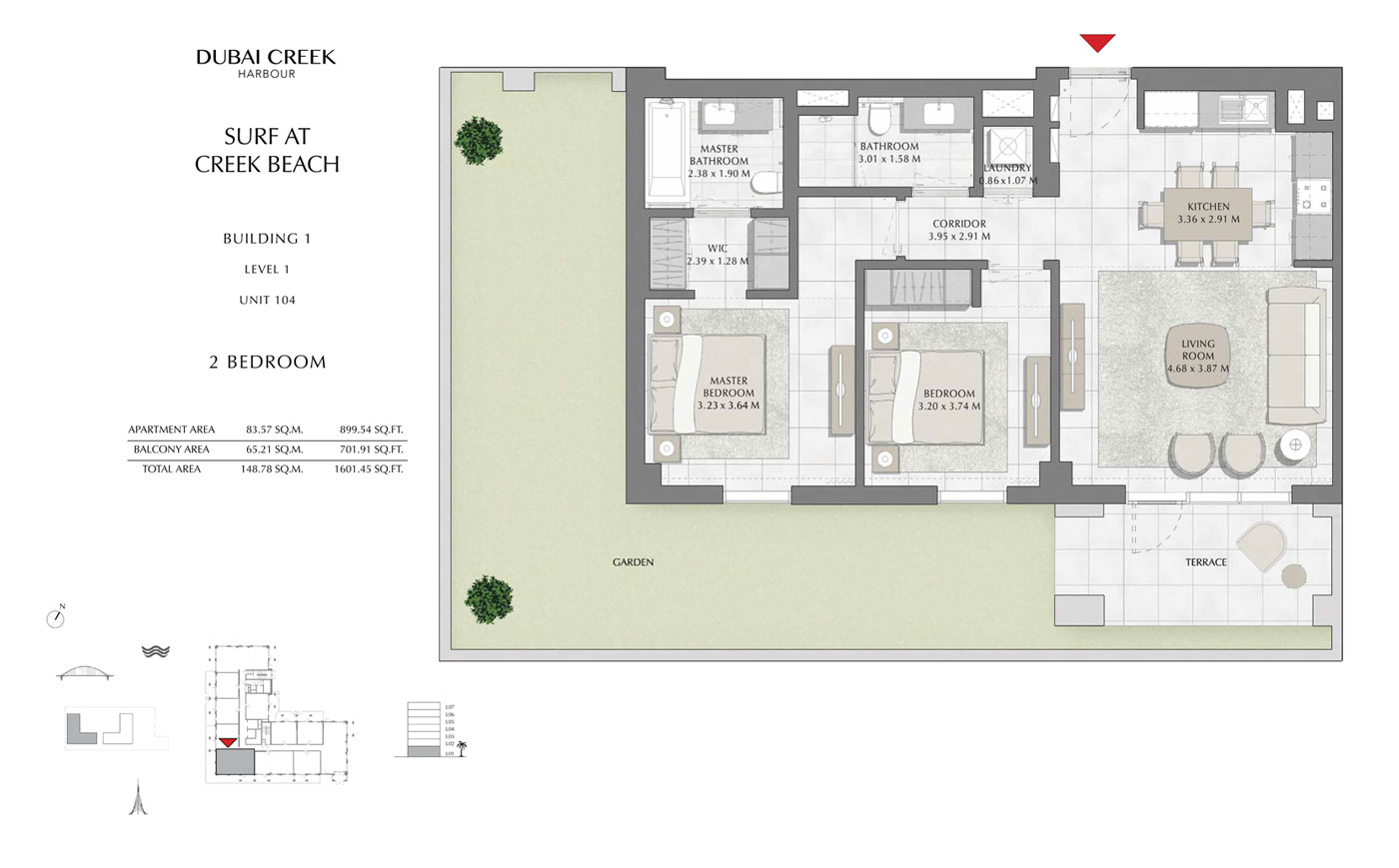Building-1-2-Bedroom,-Level-1,-Unit-104,-Size-1601.45-sq-ft