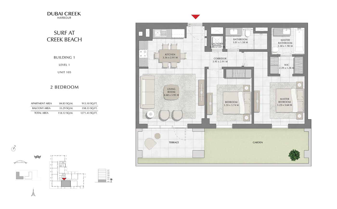 Building-1-2-Bedroom,-Level-1,-Unit-105,-Size-1271.43-sq-ft