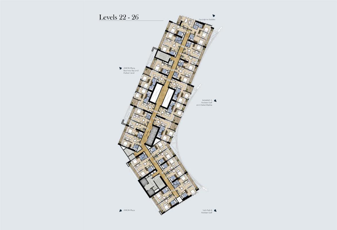 Typical-Floor-Plan-Level-22-26