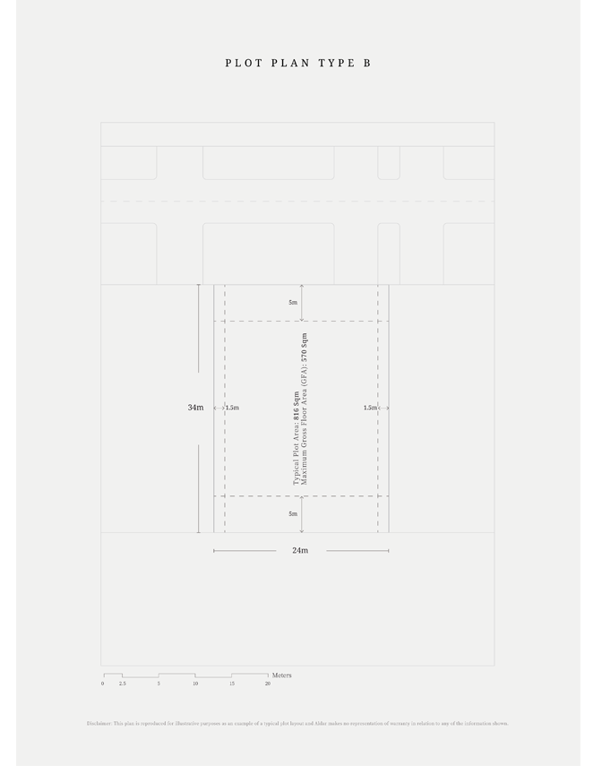 Plot-Plan-Type-B,-Typical-Plot-Area,-Size-816-sq.m