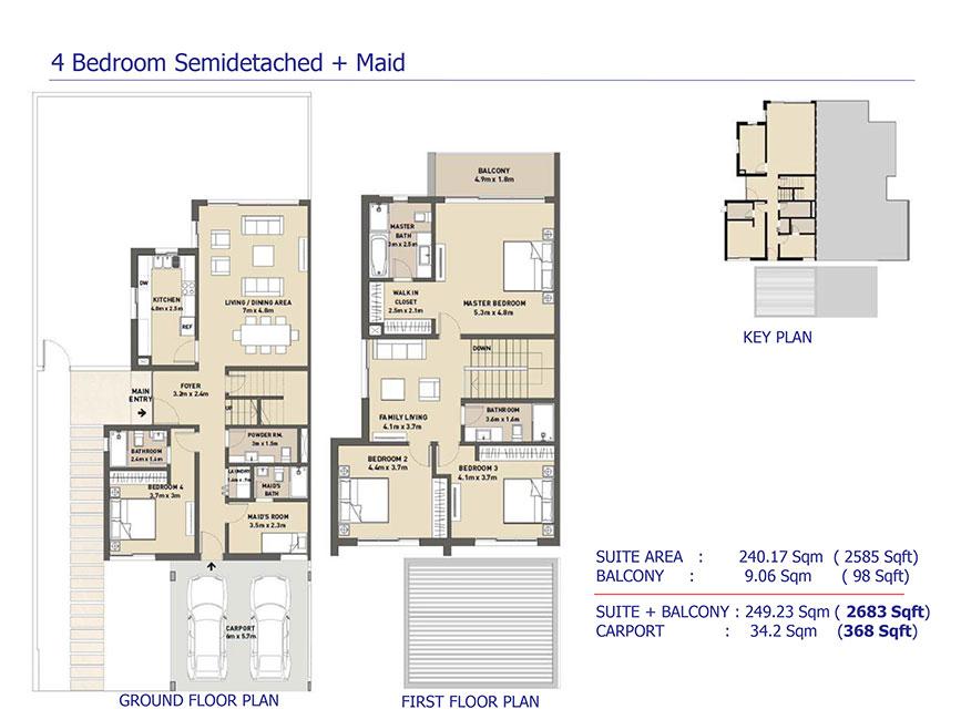 4-Bedroom-Semi-Detached-Maid
