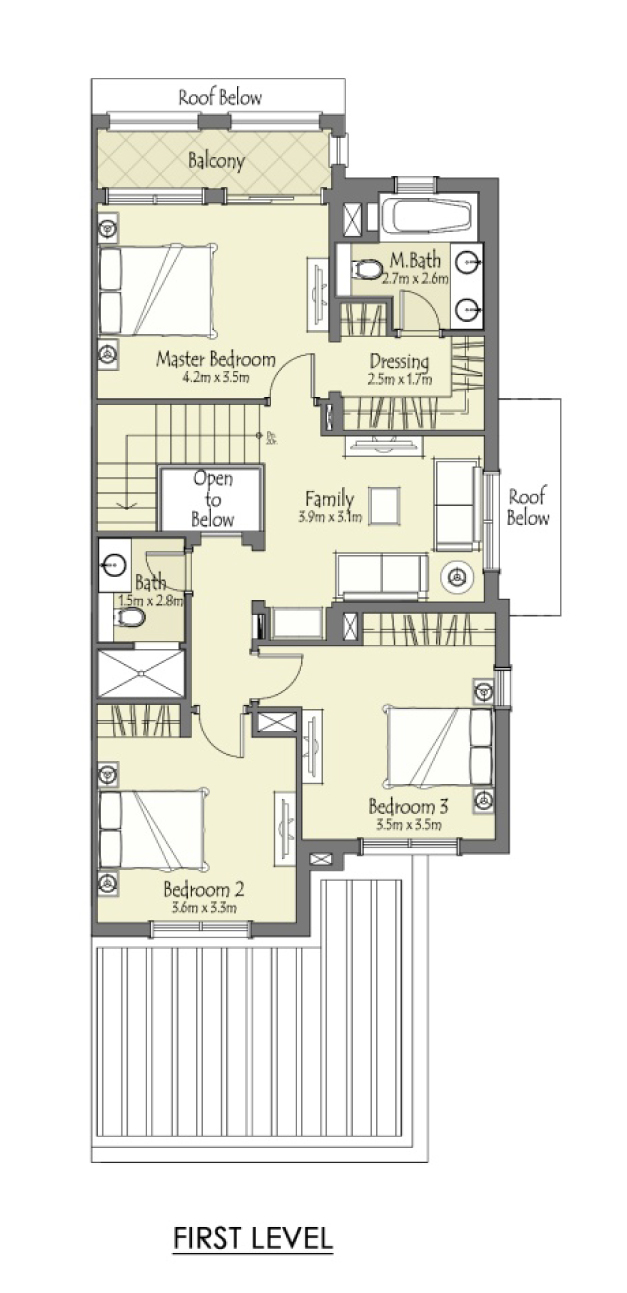 Type-A-3-Bedroom+Maid -FL
