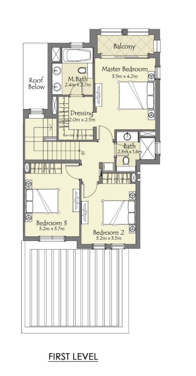Type-B-3-Bedroom+Maid-Townhouse-FL