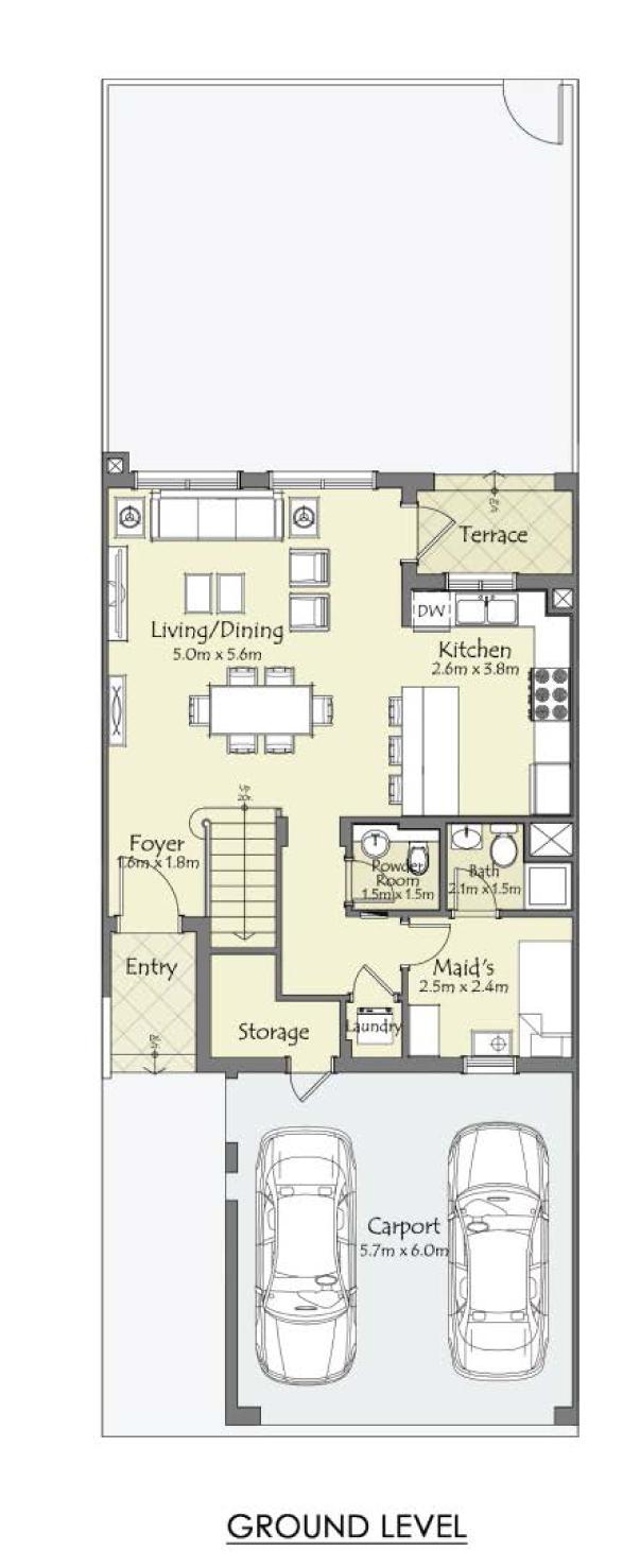 Type-C-3-Bedroom+Maid-GL