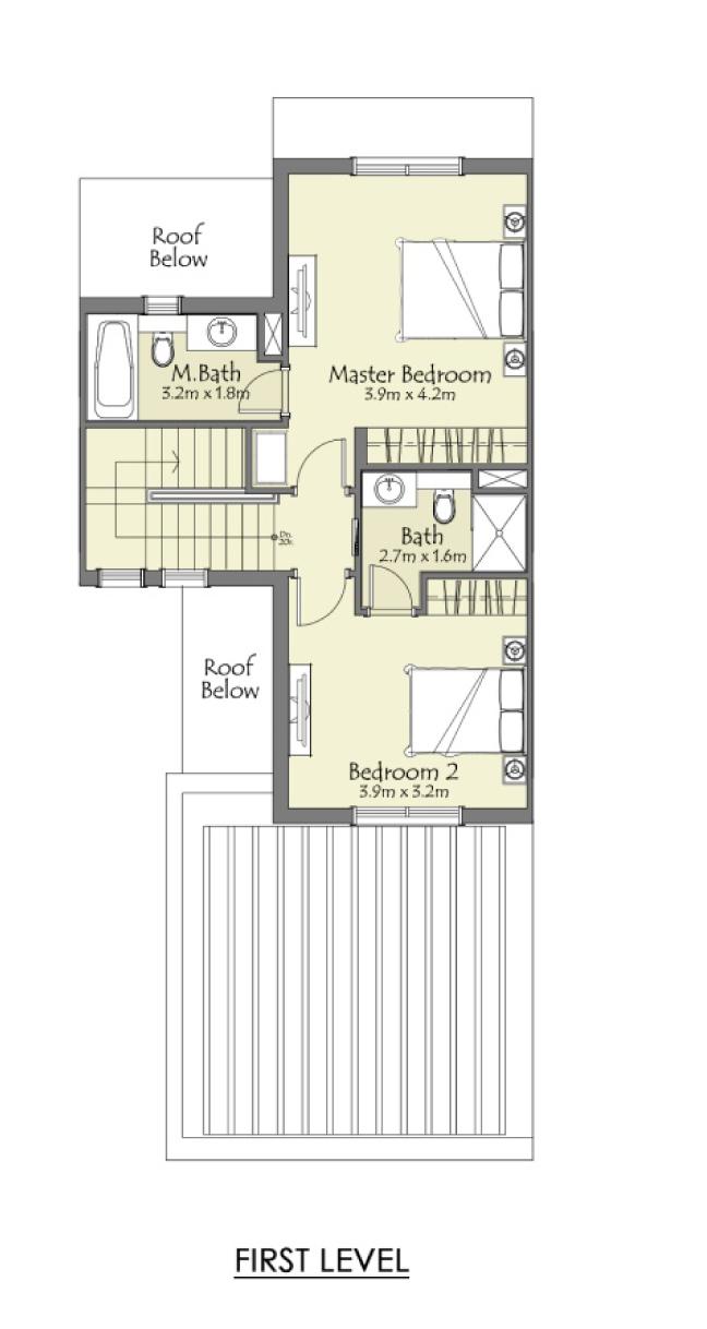 Type-D+2-Bedroom+Maid-FL