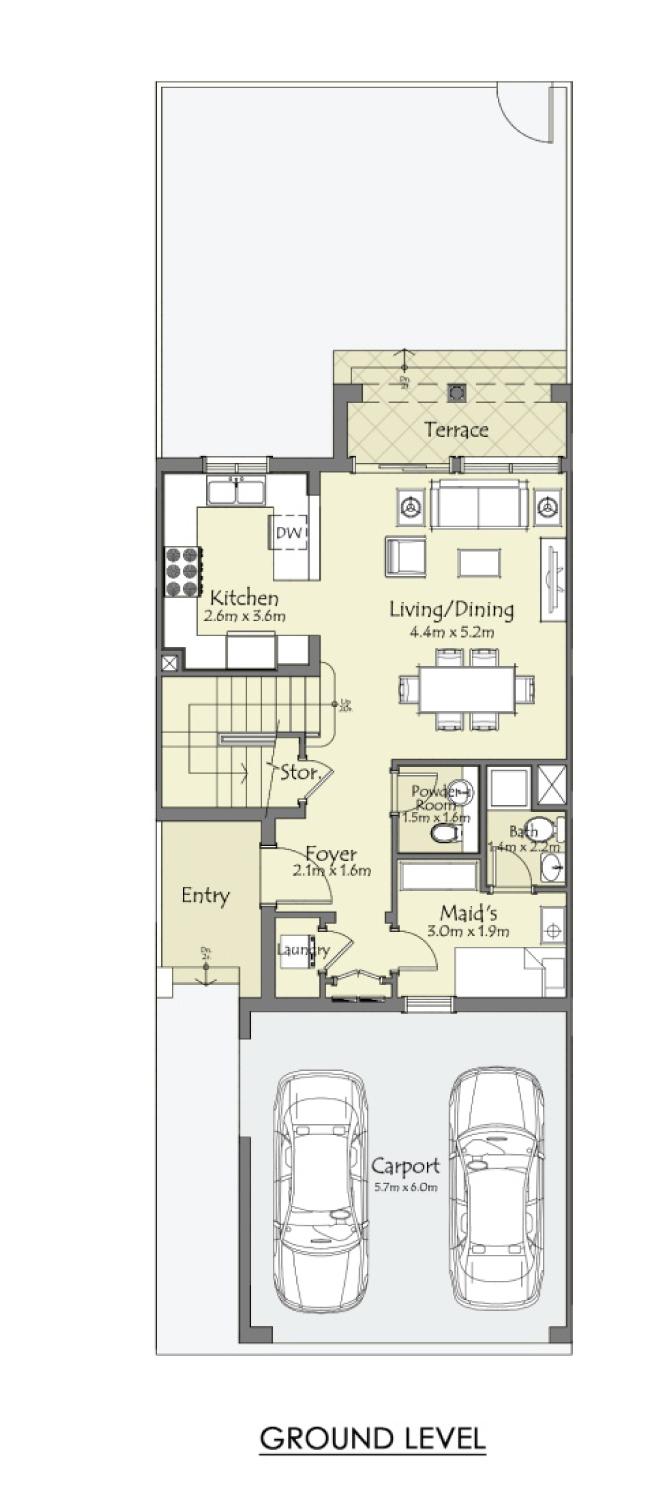 Type-D+2-Bedroom+Maid-GL