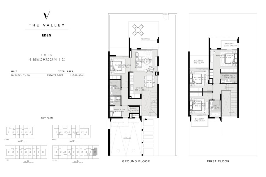 IRIS, 4-Bedroom , I-C,-Size-2336.73-sq.ft