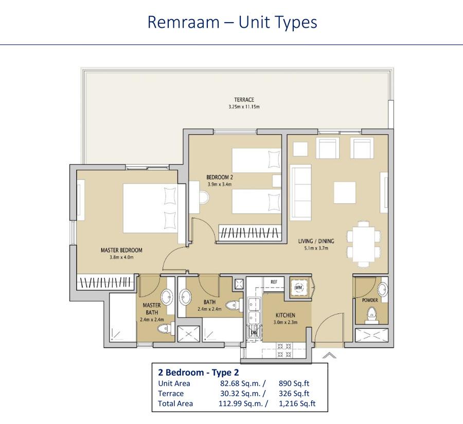 2 Bedroom Type 2