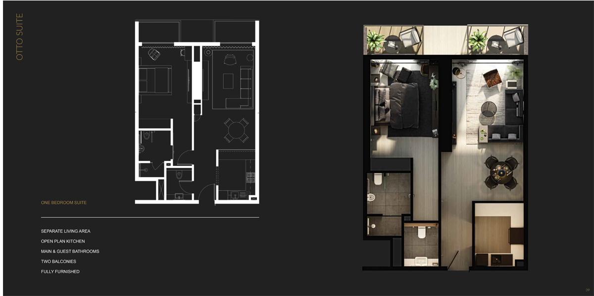 1 Bedroom Otto Suite