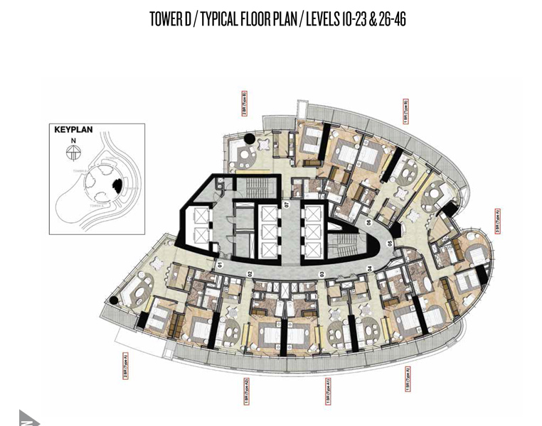 Tower-D-Typical-Floor Plan-1