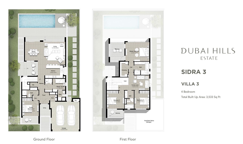 4-Bedroom-3533-Sqft