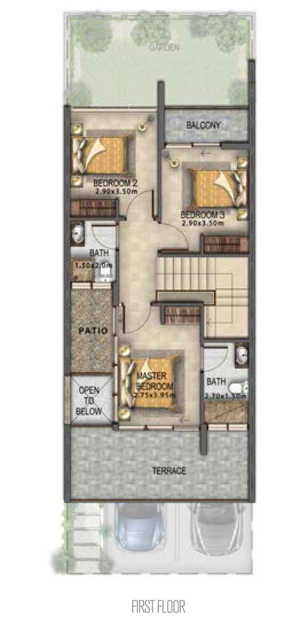 Villa Type RR-M First Floor
