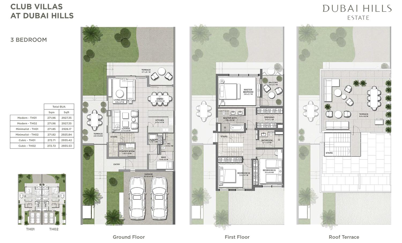 3 Bedroom Villa 1
