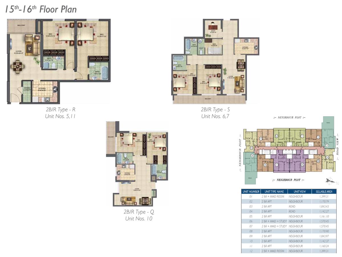 15th-16th-Floor-Type-R-S-Q