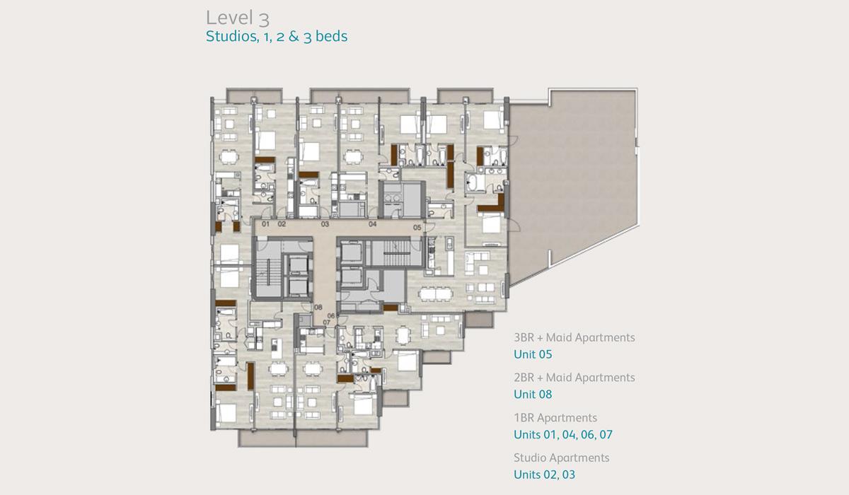 Level3-studio-1-2-3-bedroom