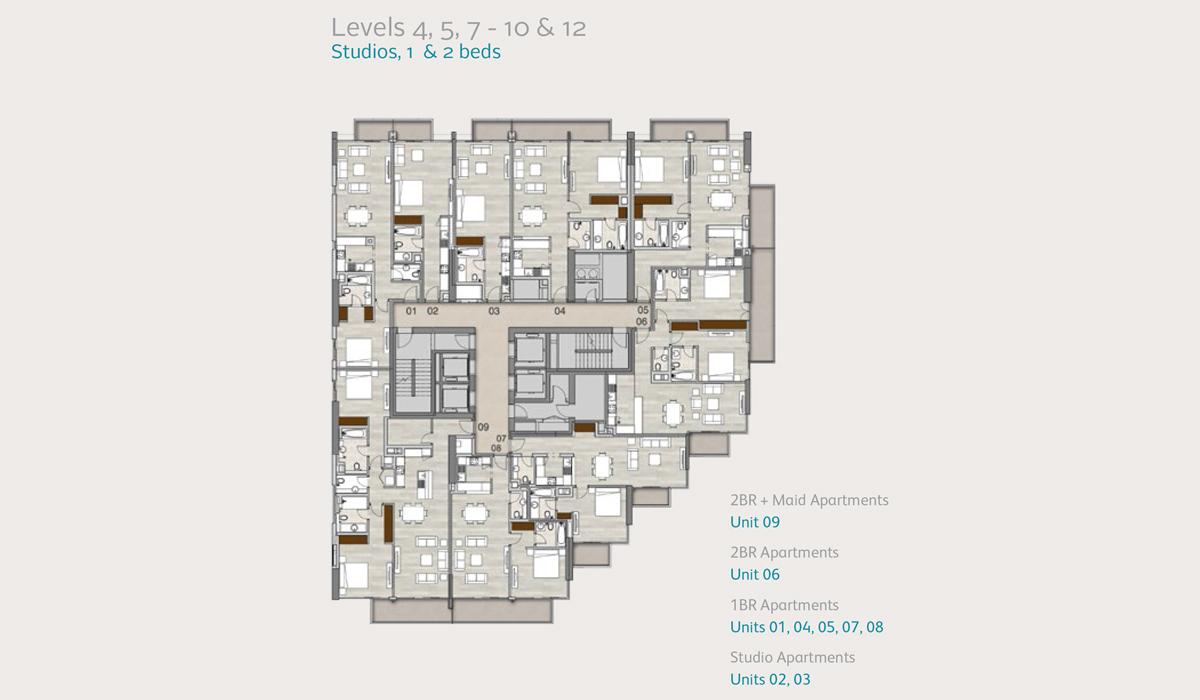 Level-4-5-7-10-12-studio-1-2-bedroom