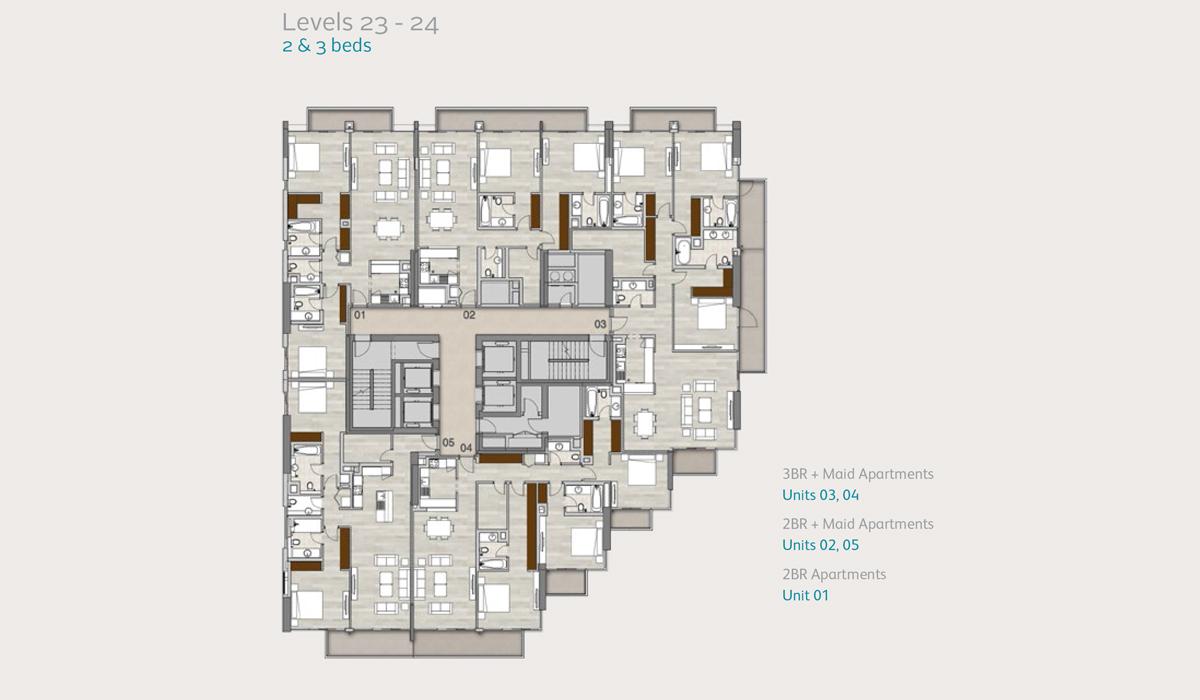Level-23to24-2-3-bedroom