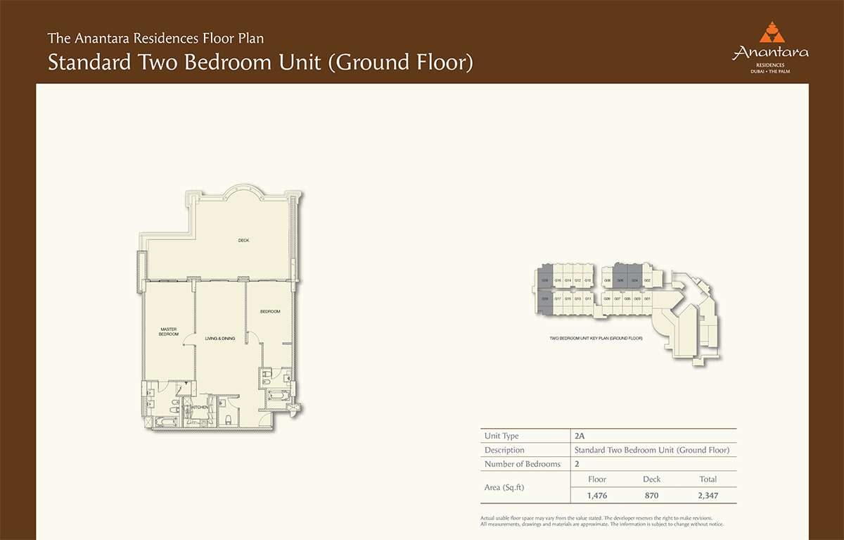 Ground Floor -2bd- Size 2347-sqft