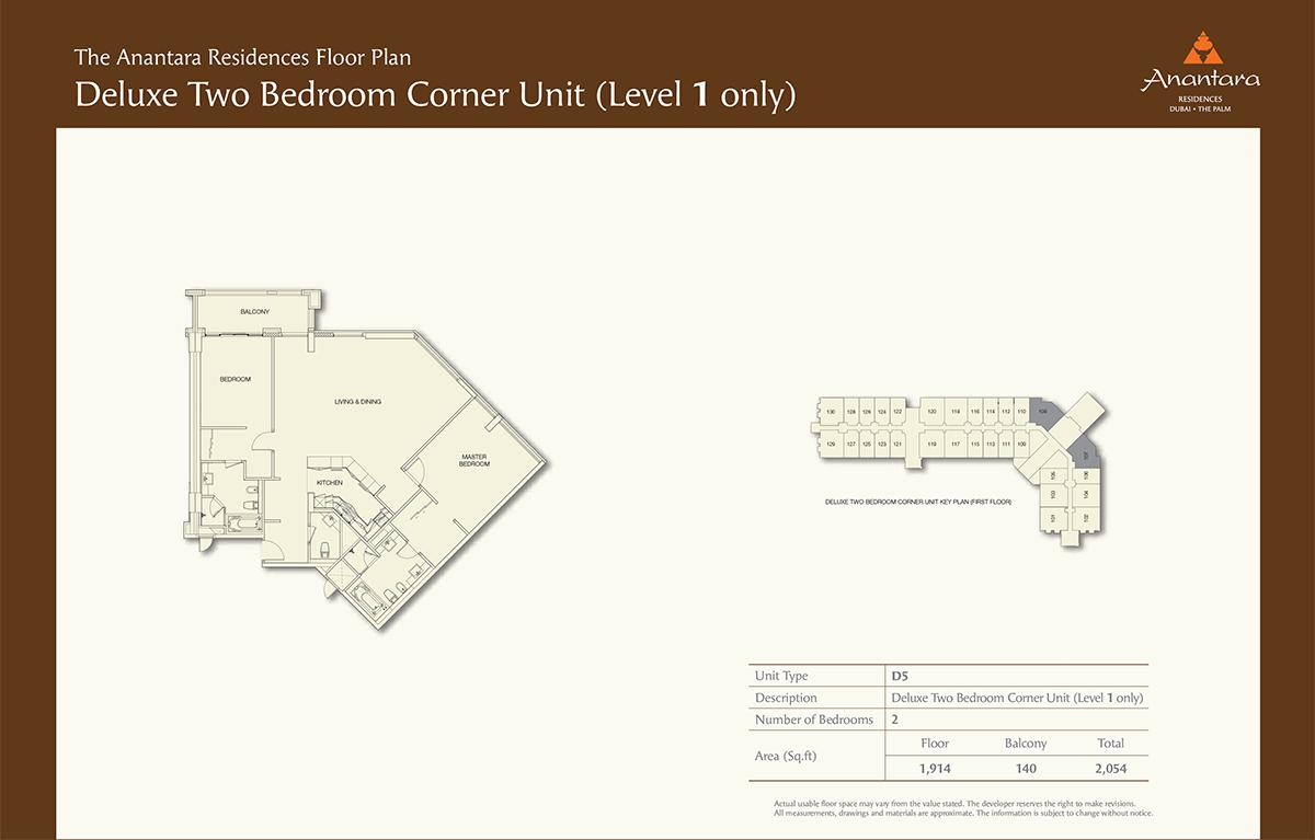 Level1-2bd- Size 2054-sqft