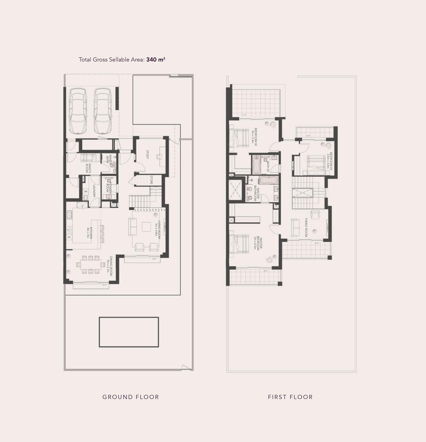 3-bed-Semi-Detach-Villa