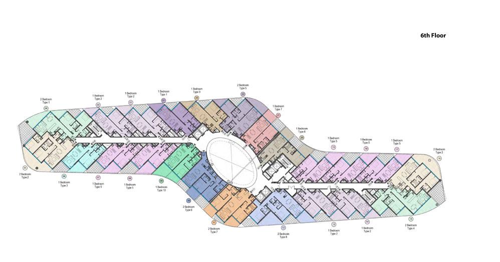 Mina-Sixth-Floor-Plan