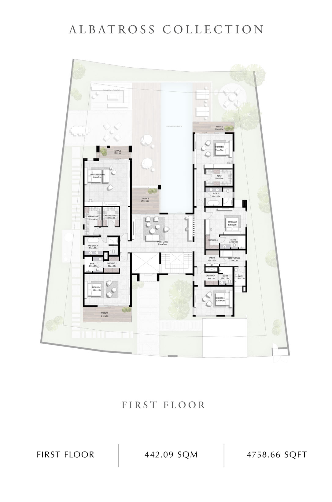 Albatross-Collection-First Floor, Size 4758 Sq Ft