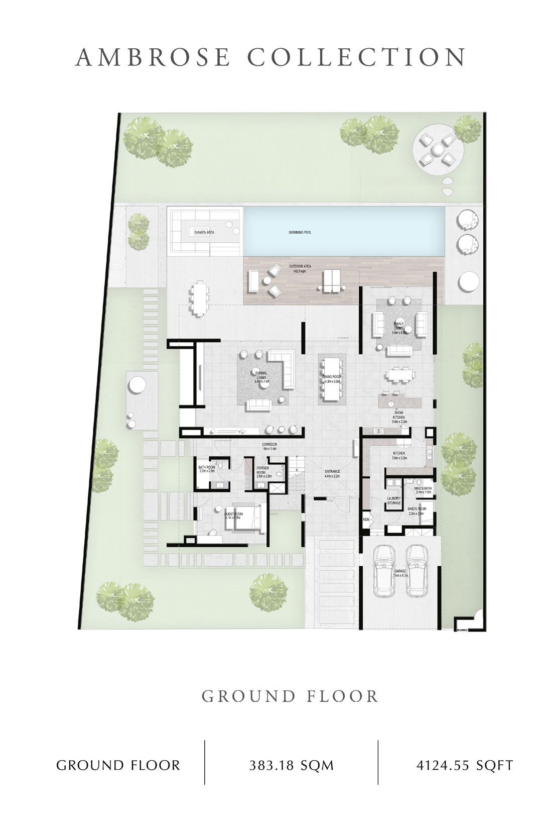 Ambrose-Collection-Ground Floor, Size 4124 Sq Ft