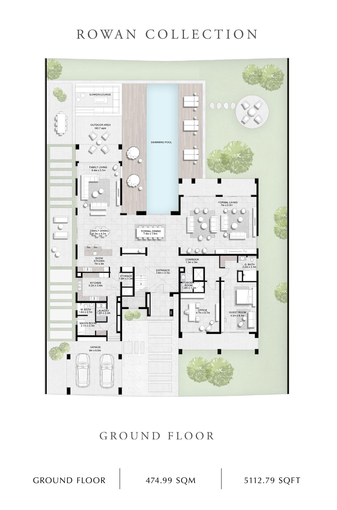 Rowan-Collection-Ground Floor, Size 5112 Sq Ft