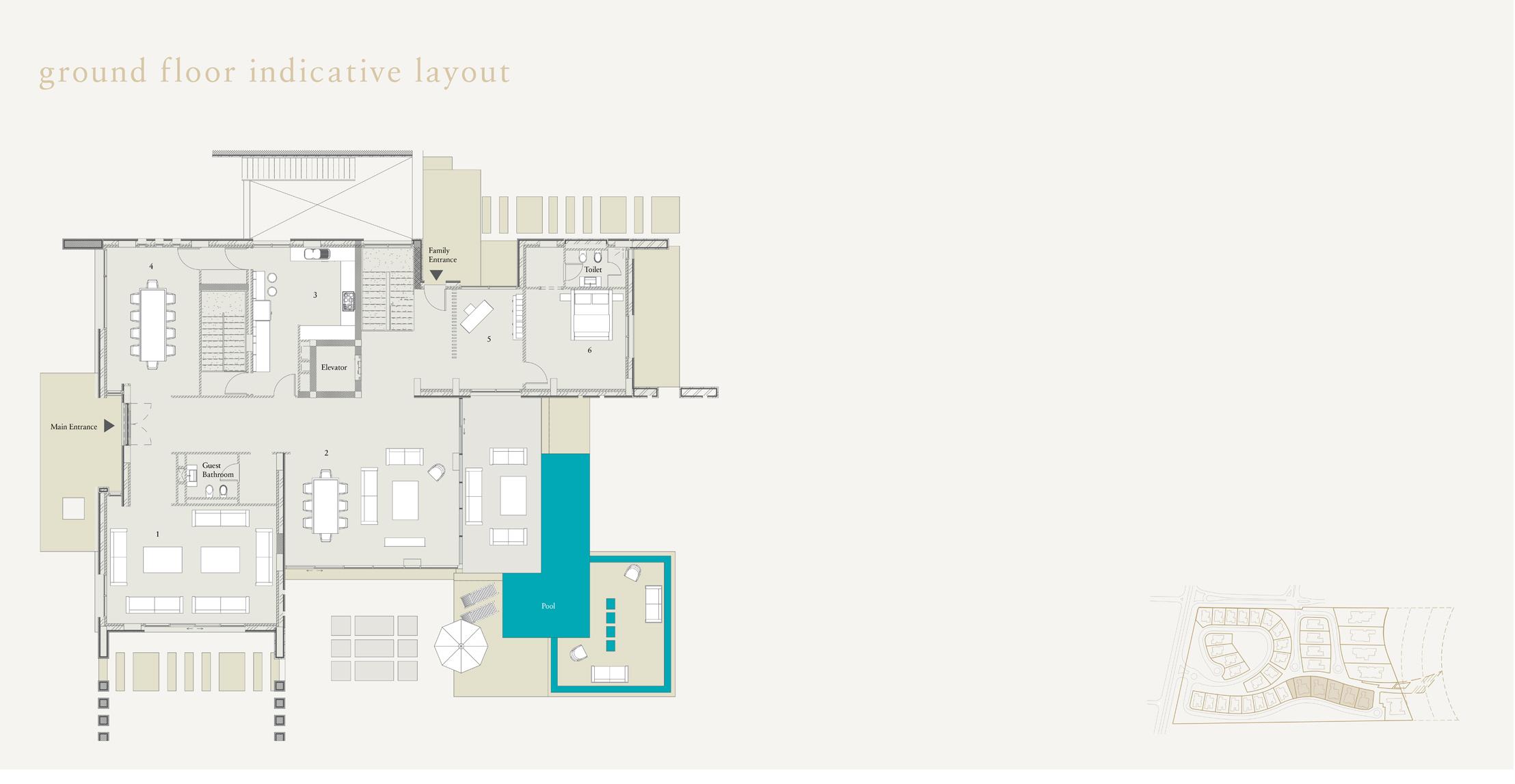 Ground Floor Inductive Layout