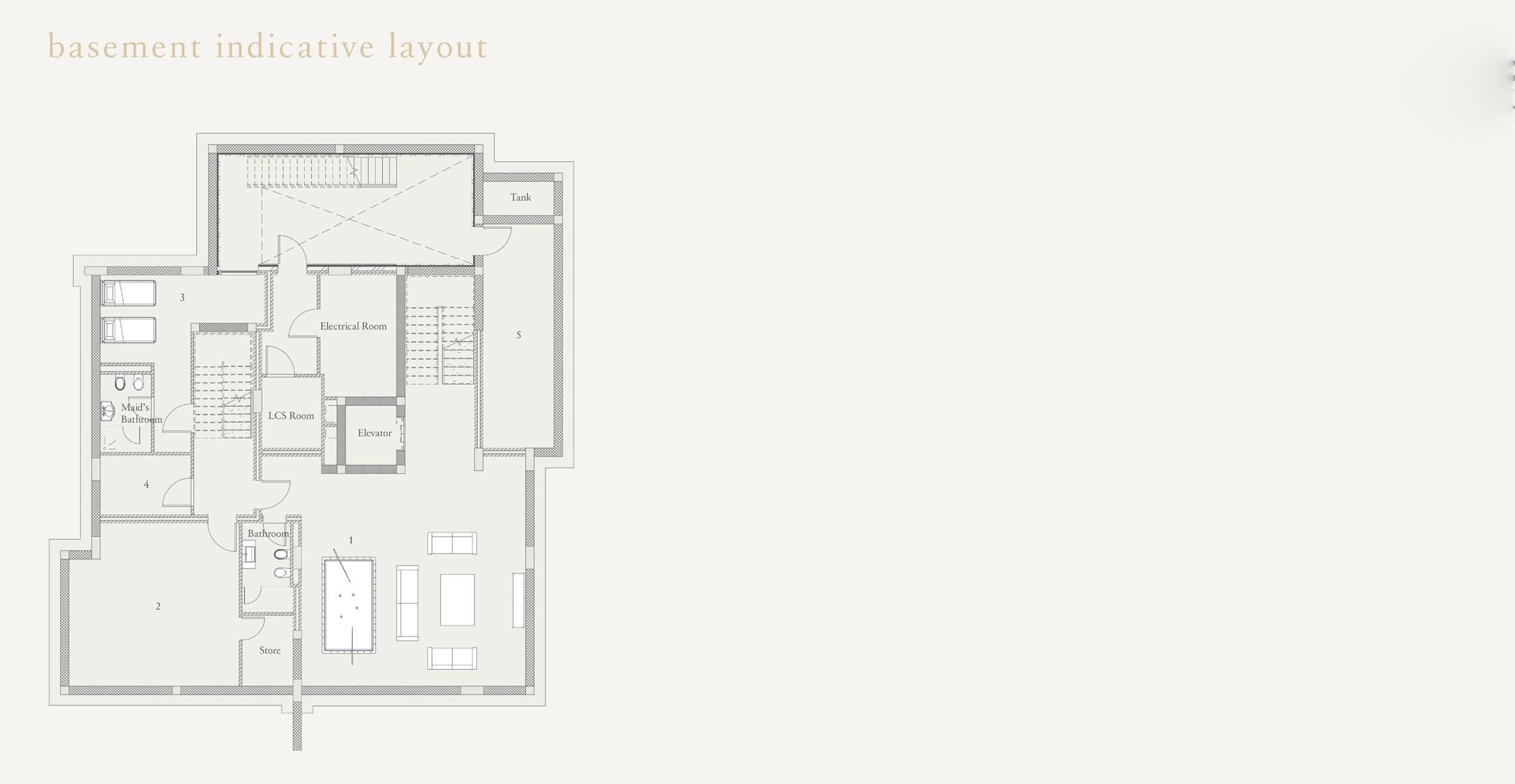 Basement Inductive Layout