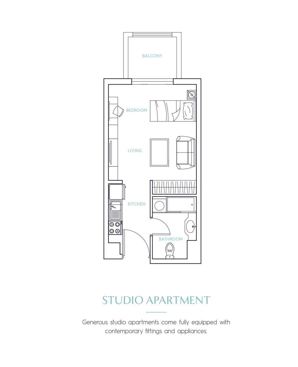 Candace Aster Serviced Apartments - Studio