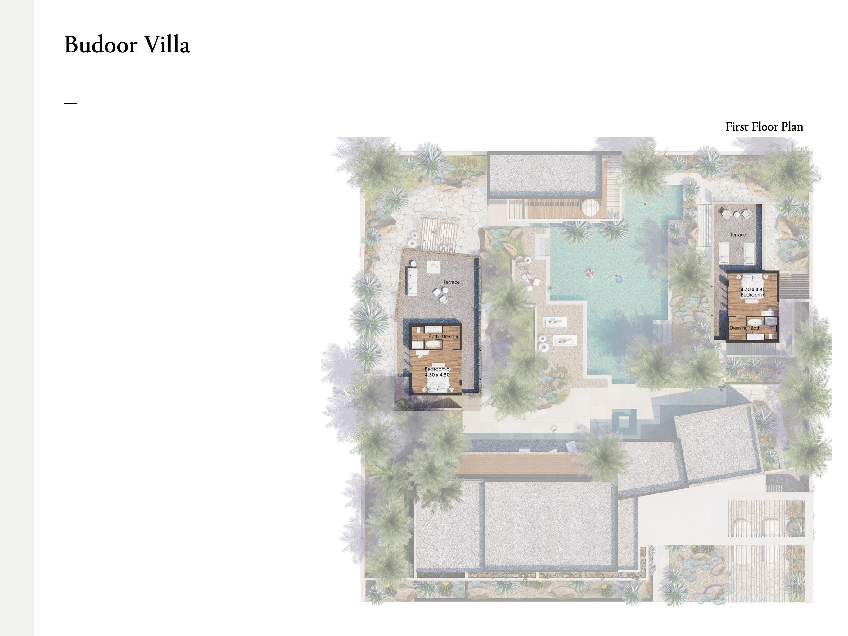 Budoor Villa - 4 Bedroom with a size area of 419 sqm