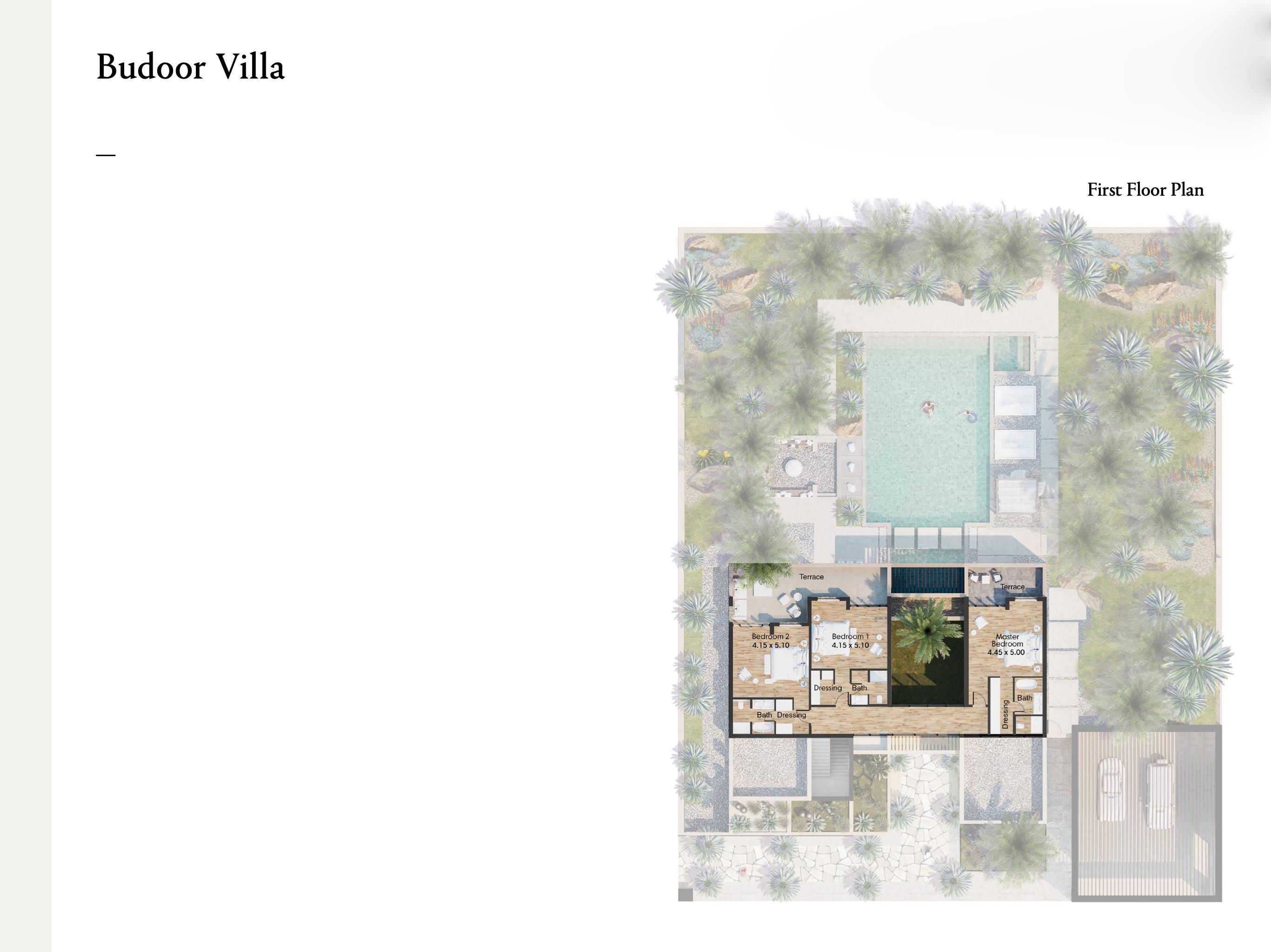 Budoor Villa - 5 Bedroom villas with a size area of 635 sqm