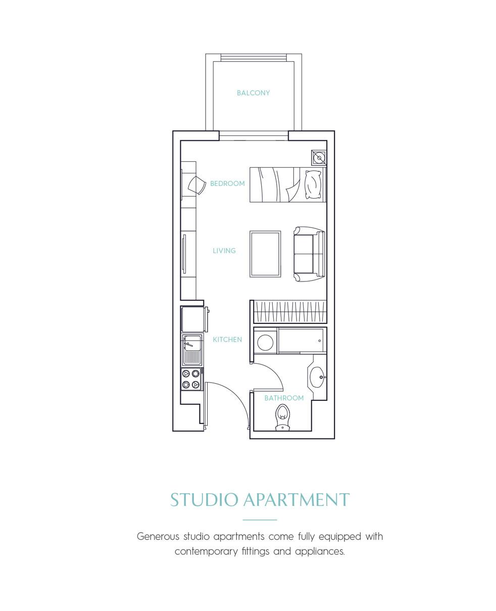 Candace Acacia Serviced Apartments -  Studio