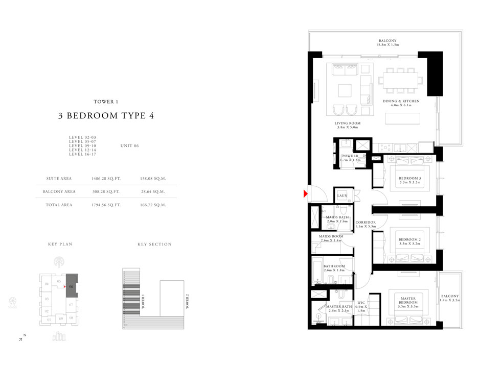 3-Bedroom-Type-4-Tower-1,Size-1794.56-sq.ft