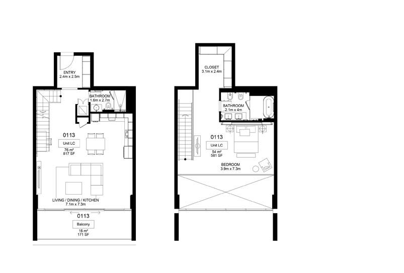 Mamsha-A1-01-13 ,1 Bed 146.00-sq.mt