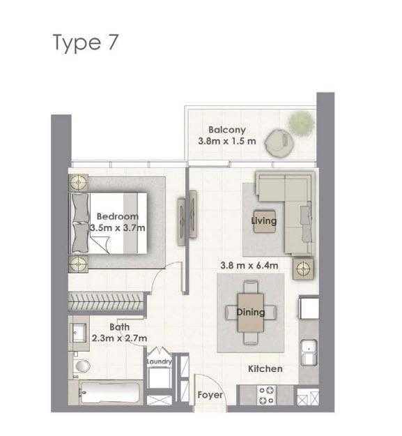 Tower-A Unit-07 Level 02-16, 18-33
