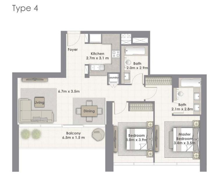Tower-A Unit-04 Level 02-16, 18-33
