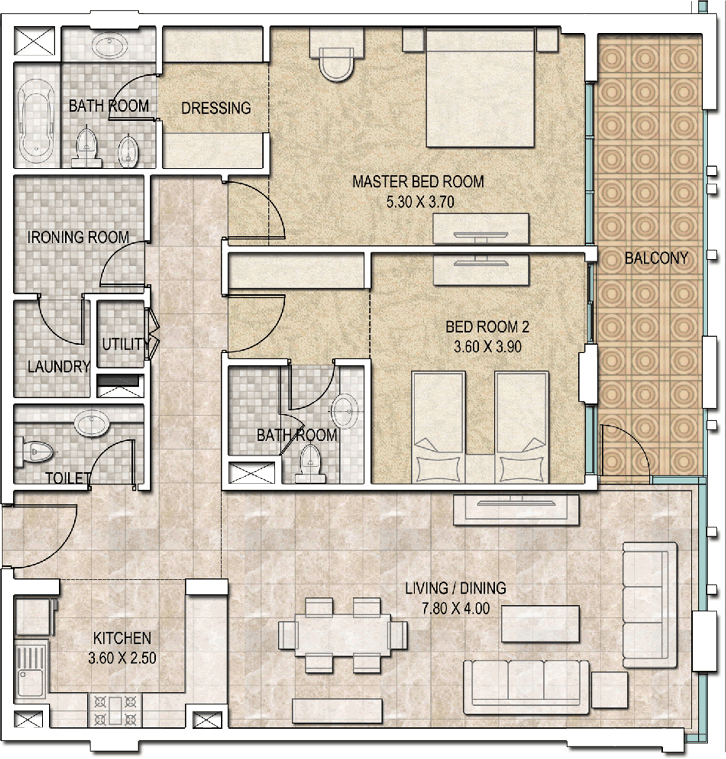 Typical-2bhk-type-a