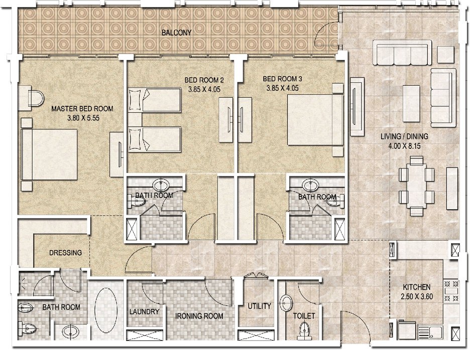 Typical-3bhk-type-a