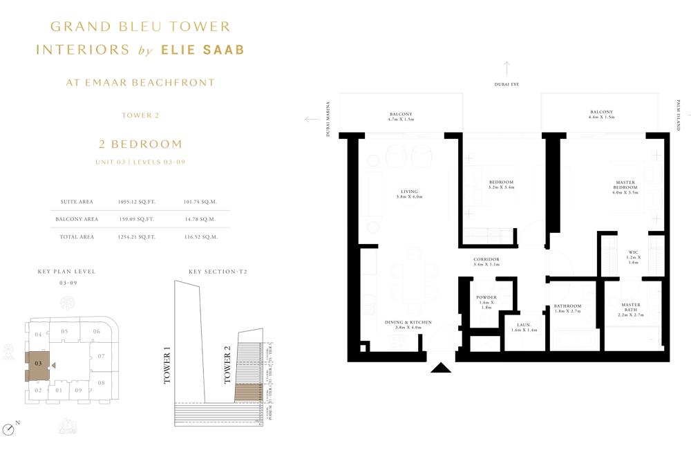 2 Bed, Unit-03-Level-03-09