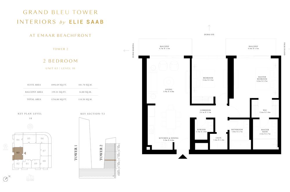 2 Bed, Unit-03-Level-10
