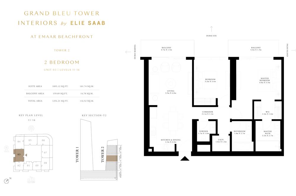 2 Bed, Unit-03-Level-11-16