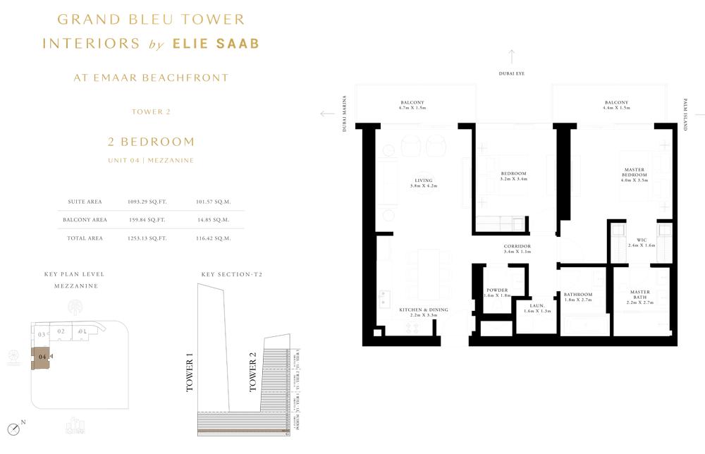2 Bed, Unit-04 Mezzanine