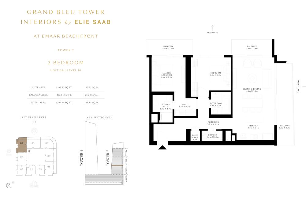 2 Bed, Unit-04-Level-10