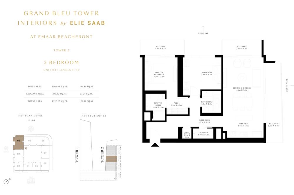 2 Bed, Unit-04-Level-11-16