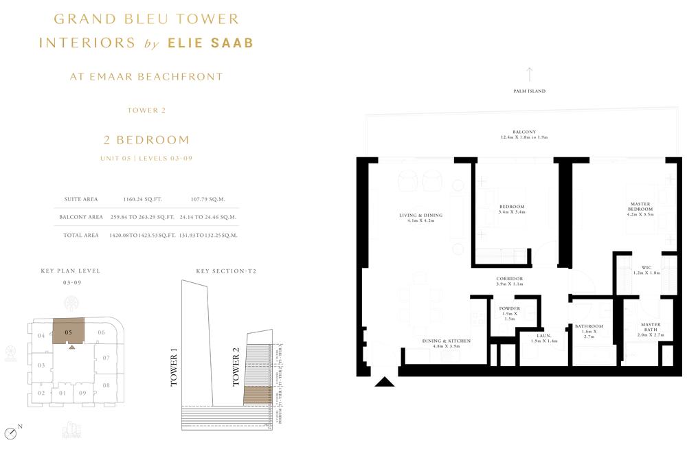 2 Bed, Unit-05-Level-03-09